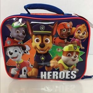 Paw Patrol Canvas Insulated Lunch Bag